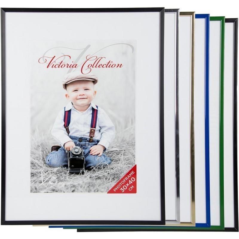 Photo frame Aluminium 30x40, black matte - Photo frames - Photopoint