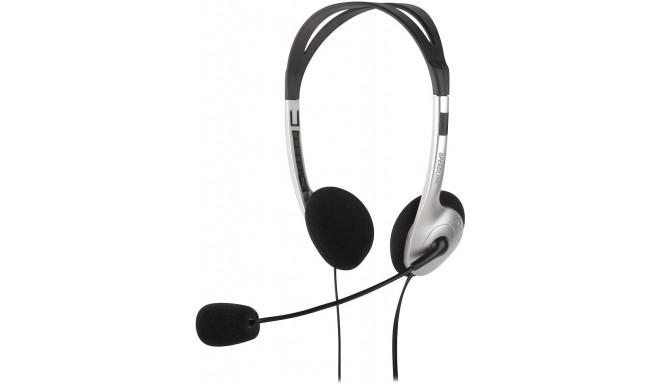 Speedlink kõrvaklapid + mikrofon Maia (SL-8720-SV)