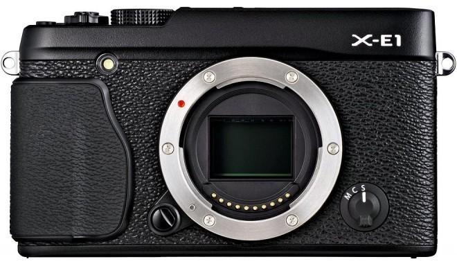 Fujifilm X-E1  kere, must