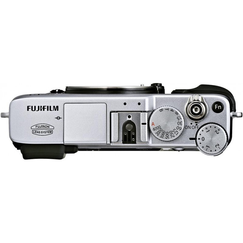Fujifilm X-E1  kere, hõbedane