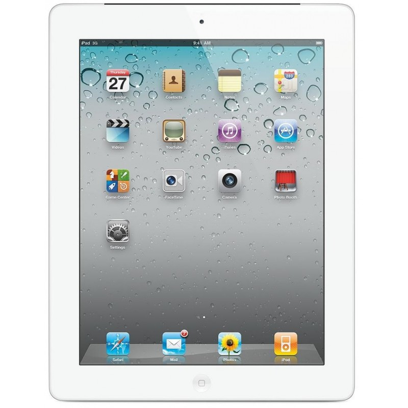 Apple iPad Retina 16GB WiFi+4G A1460, valge