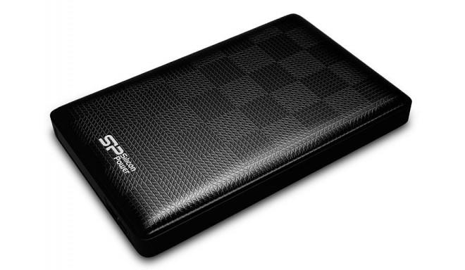 Silicon Power ārējais cietais disks Diamond D03 1TB, melns