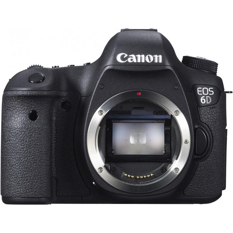 Canon EOS 6D, корпус