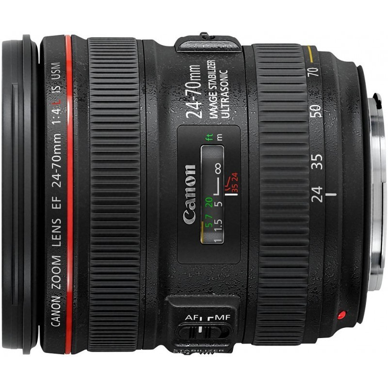 Canon EF 24-70mm f/4.0L IS USM objektiiv