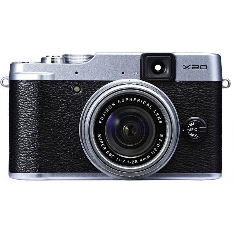 Fujifilm X20, hõbedane