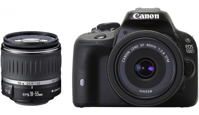Canon EOS 100D + 18-55мм DC + 40 мм STM Kit