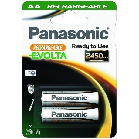 Panasonic Evolta akumulators AA 2450mAh P-6E/2B