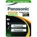 Panasonic аккумуляторы Evolta 2450mAh P-6E/2B