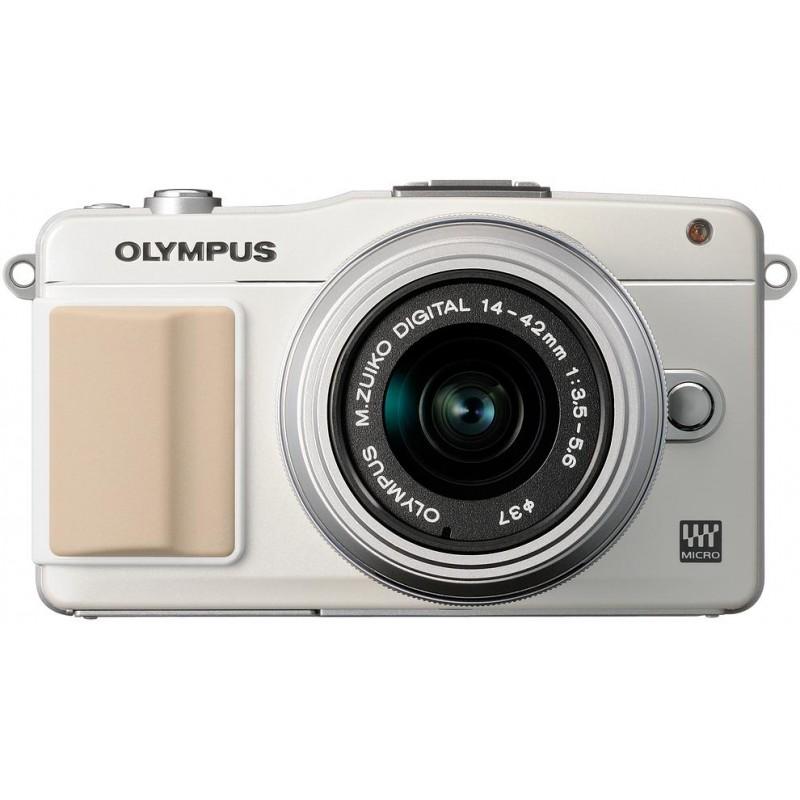 Olympus PEN Mini E-PM2 + 14-42 мм II Kit белый