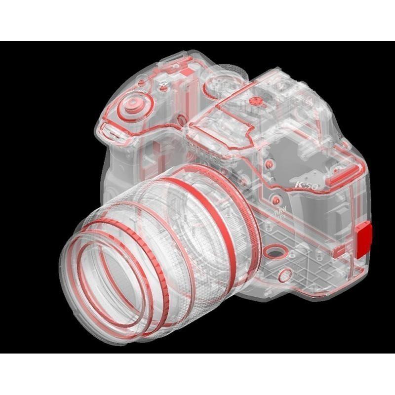 Pentax K-50 + 18-55mm WR Kit, must