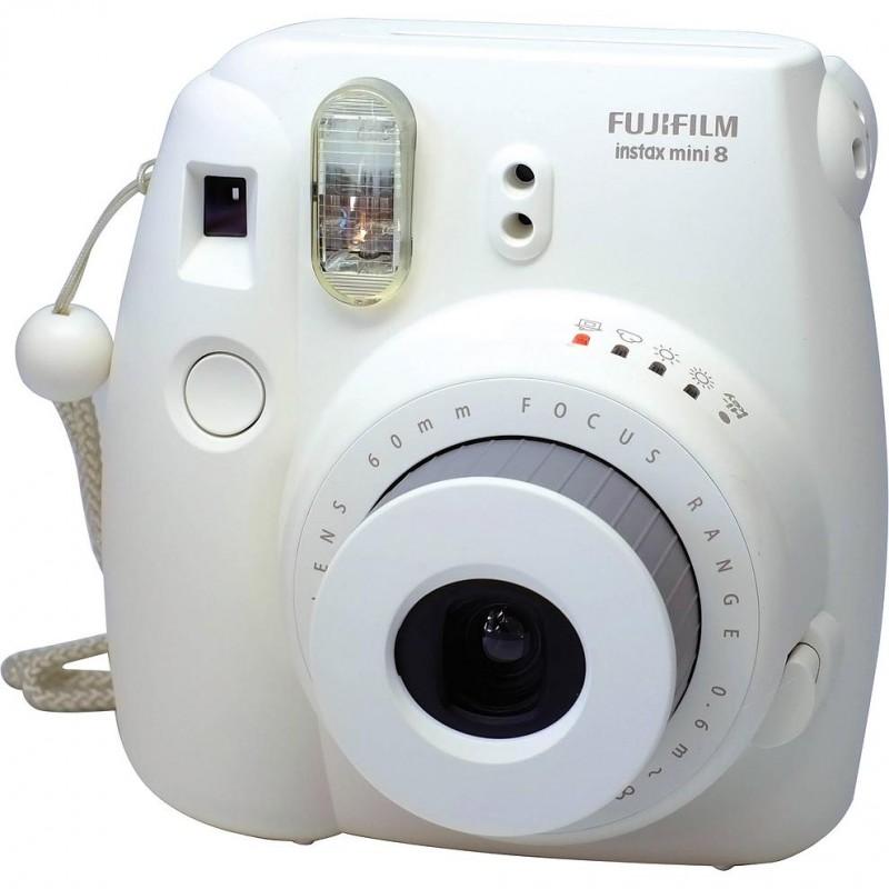 Fujifilm Instax Mini 8, valge