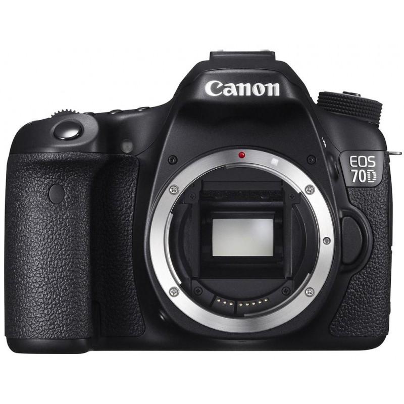 Canon EOS 70D, корпус
