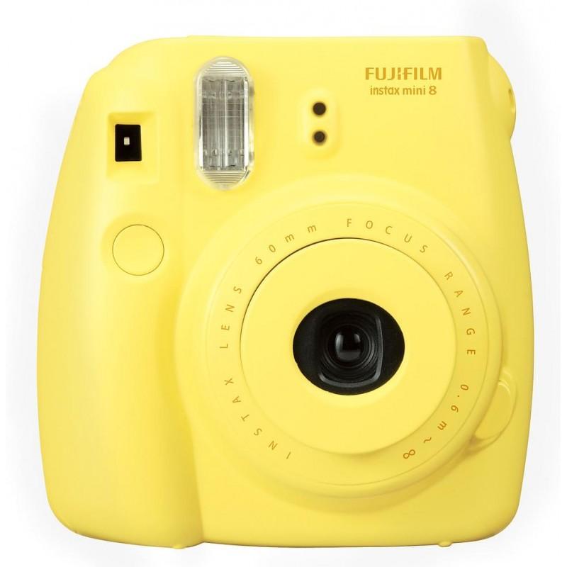 Fujifilm Instax Mini 8, kollane