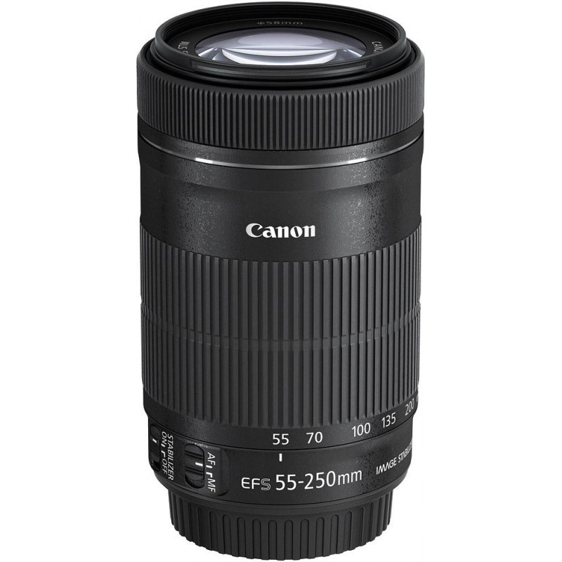Canon EF-S 55-250mm f/4.5-5.6 IS STM objektiiv