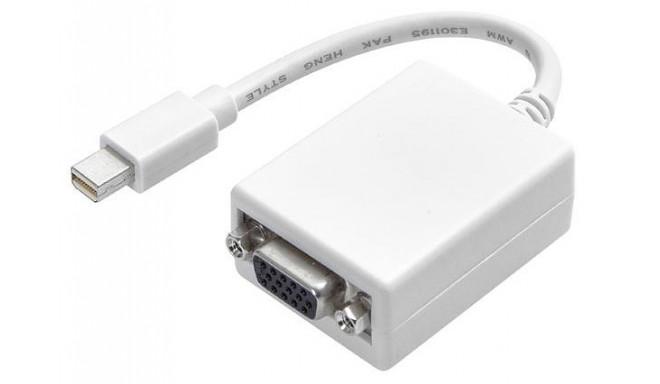 Vivanco adapteris Mini DisplayPort - VGA 0.1m (45496)