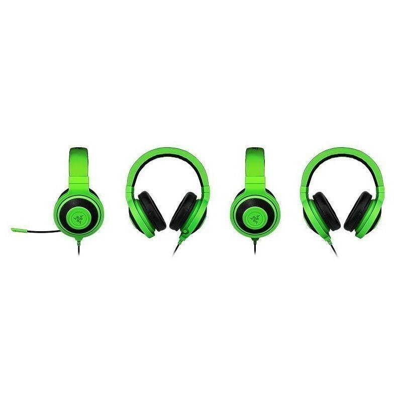 Razer наушники Kraken Pro, зеленые