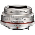 HD Pentax DA 21 мм f/3.2 AL Silver Limited