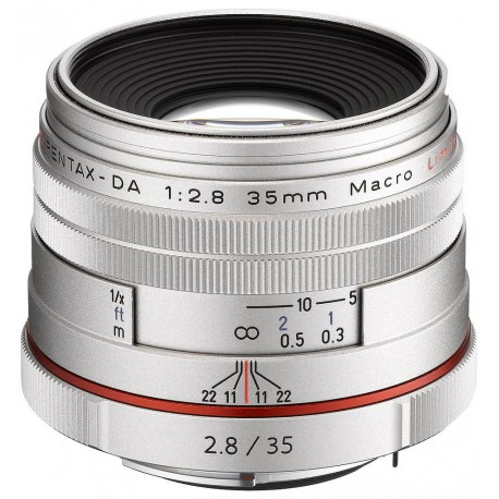HD Pentax DA 35mm f/2.8 Macro Silver Limited