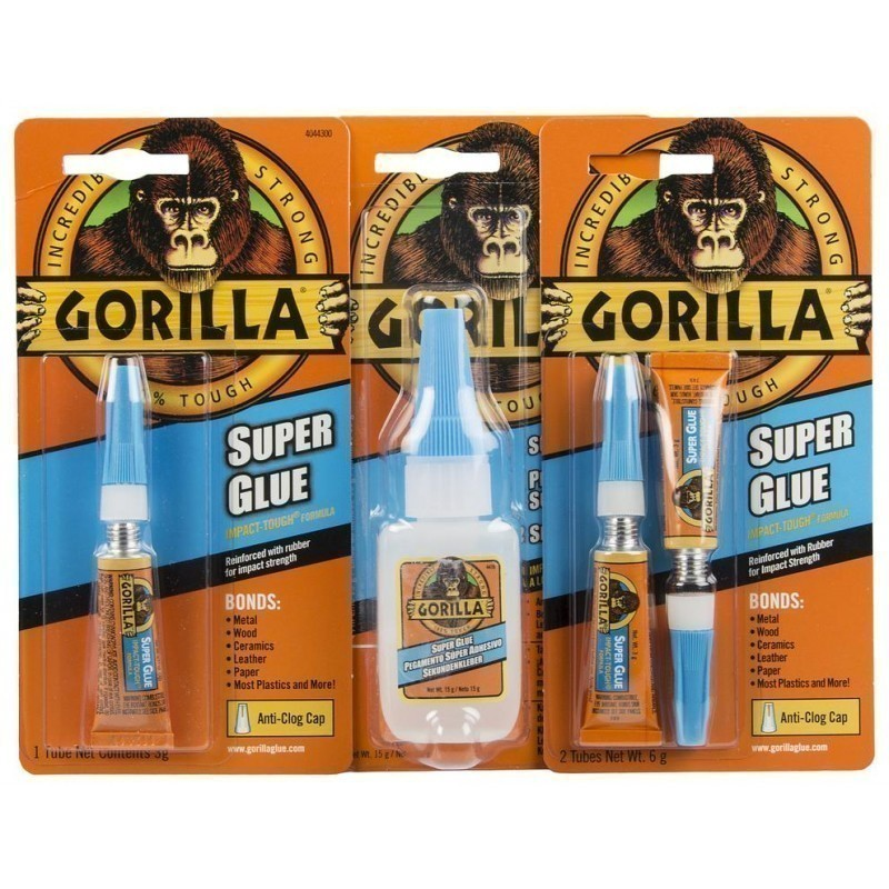 "Gorilla клей ""Superglue"" 2x3 г"