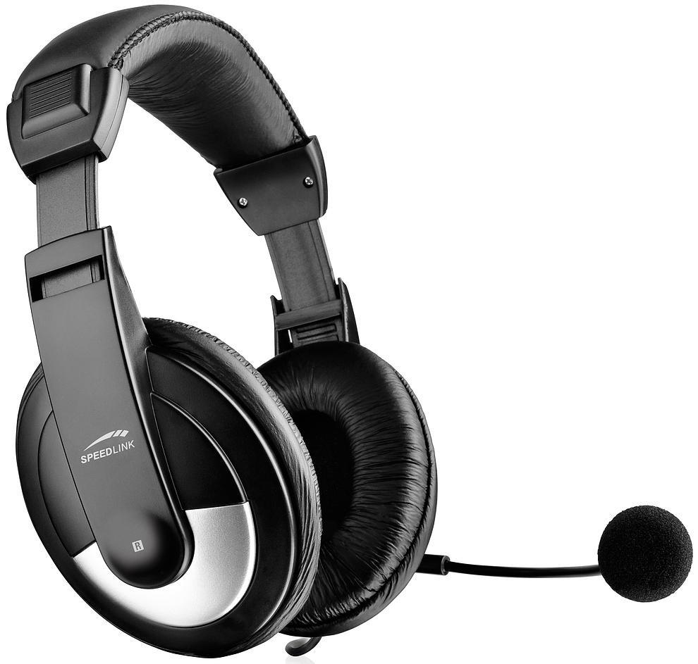 Speedlink kõrvaklapid + mikrofon Thebe ..