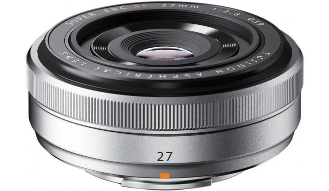 Fujinon XF 27мм f/2.8 объектив, серебристый