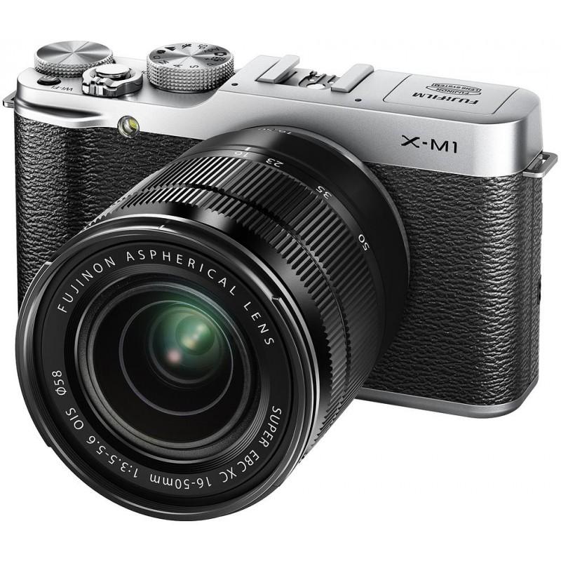 Fujifilm X-M1 + 16-50mm + 27mm, hõbedane