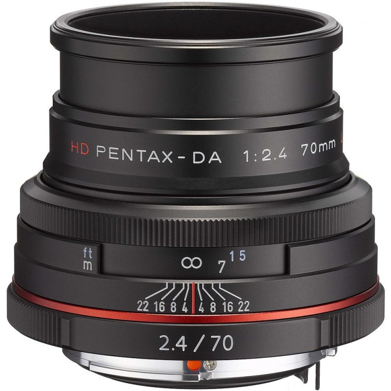 HD Pentax DA 70mm f/2.4 Limited must objektiiv