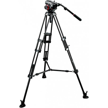 Manfrotto tripod kit 546BK + 504HD Pro Video