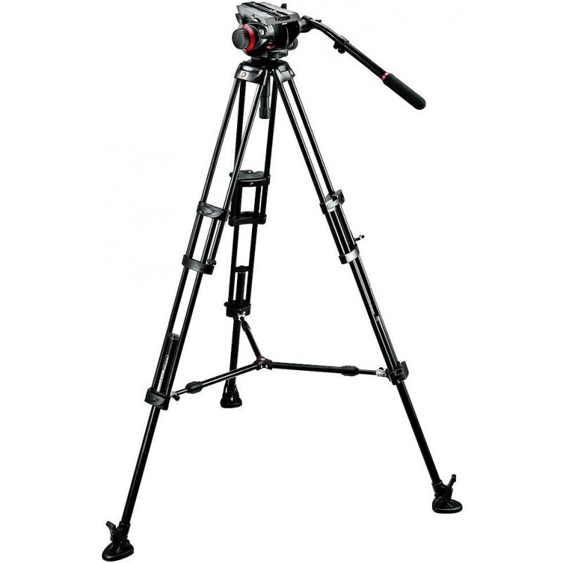 Manfrotto видеоштатив 546BK + 504HD Pro Video видеоголовка