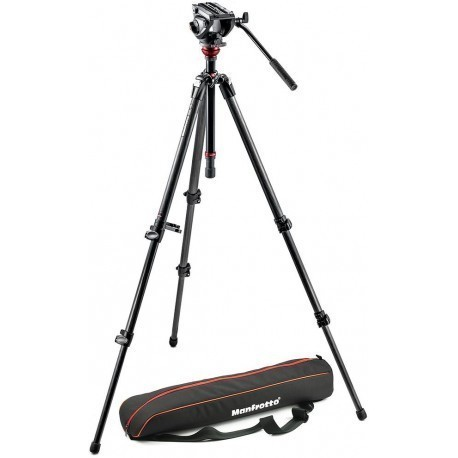Manfrotto tripod kit 755CX3 + MVH500AH