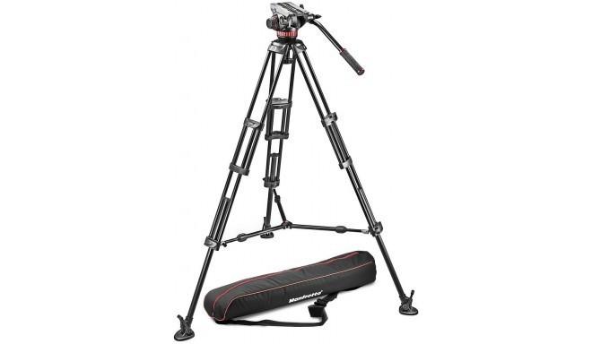 Manfrotto statiivikomplekt 546BK-1 + MVH502A Pro Video