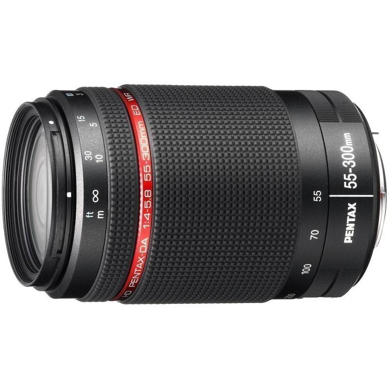HD Pentax DA 55-300мм f/4.0-5.8 ED WR объектив
