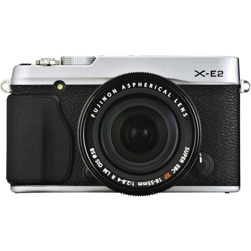 Fujifilm X-E2 + 18-55мм, серебристый