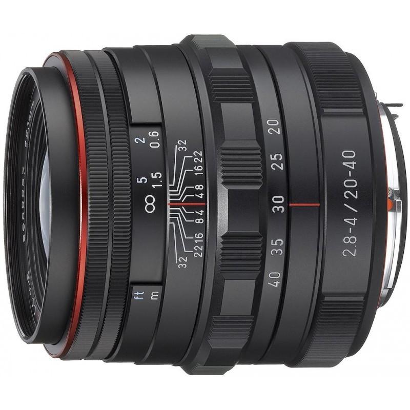 HD Pentax DA 20-40мм f/2.8-4.0 ED DC WR Limited объектив, чёрный