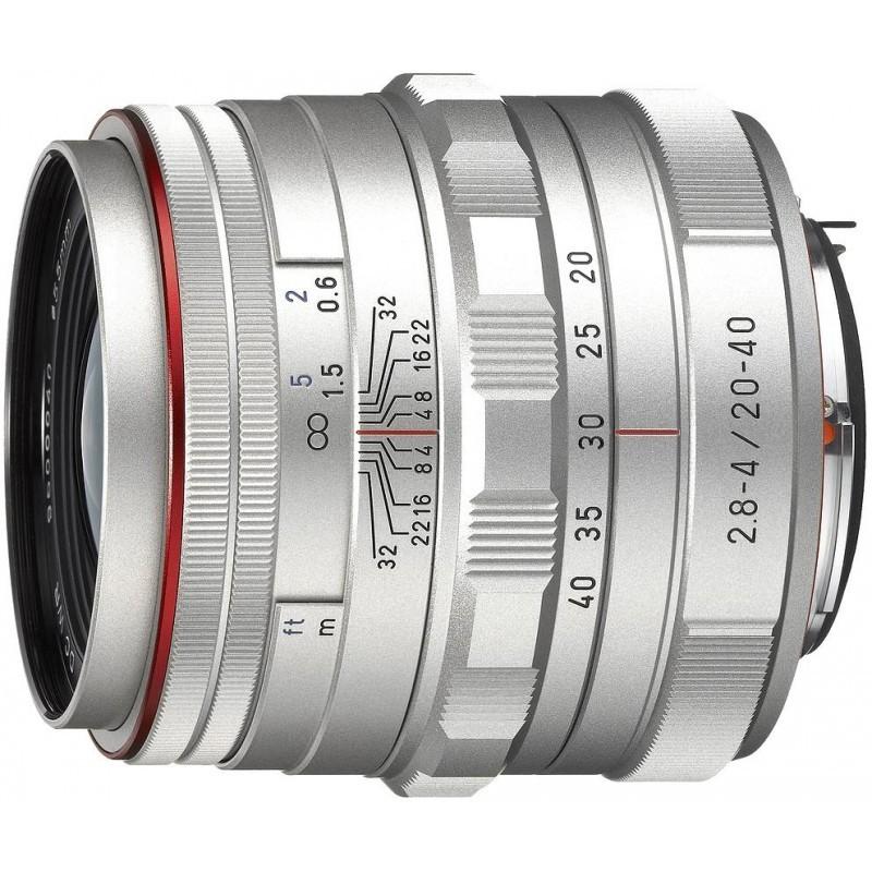 HD Pentax DA 20-40мм f/2.8-4.0 ED DC WR Limited объектив, серебристый