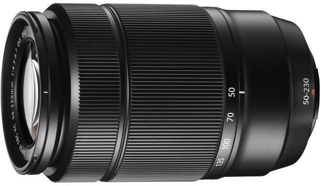 Fujinon XC 50-230mm f/4.5-6.7 OIS objektiiv, must