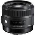 Sigma AF 30mm f/1.4 DC HSM A objektiiv Canonile