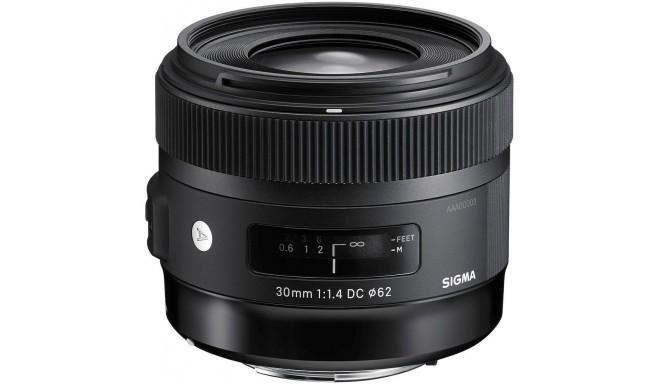 Sigma 30mm f/1.4 DC HSM Art objektiiv Canonile