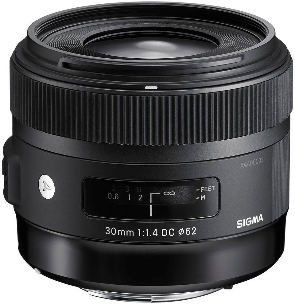Sigma 30mm f/1.4 DC HSM Art objektiiv Nikonile