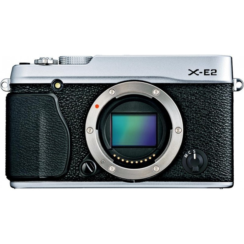 Fujifilm X-E2  kere, hõbedane