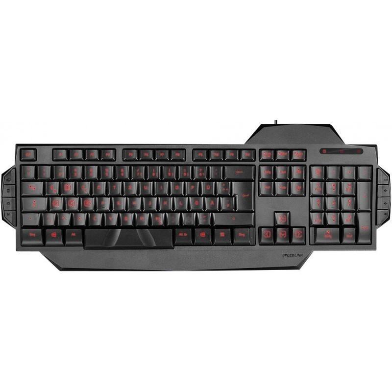 Speedlink klaviatuur Rapax SL6480-BK Nordic