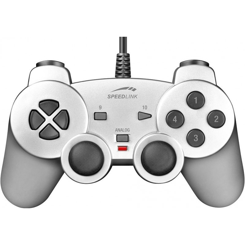 Speedlink Gamepad Strike SL6535-SR, серебристый