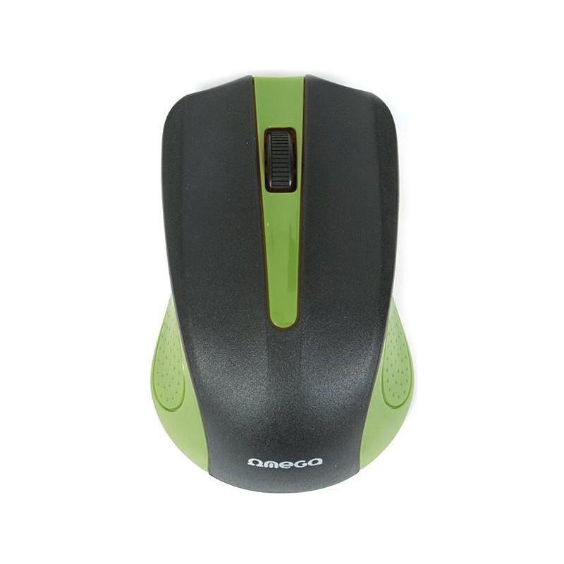 Omega mouse OM-05G, green