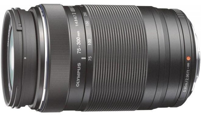 M.Zuiko Digital ED 75-300мм f/4.8-6.7 II объектив, чёрный
