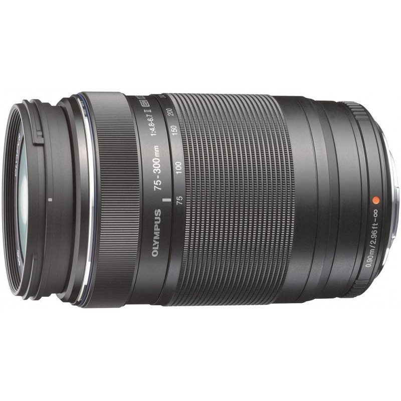 M.Zuiko Digital ED 75-300мм f/4.8-6.7 II объектив, чёрный