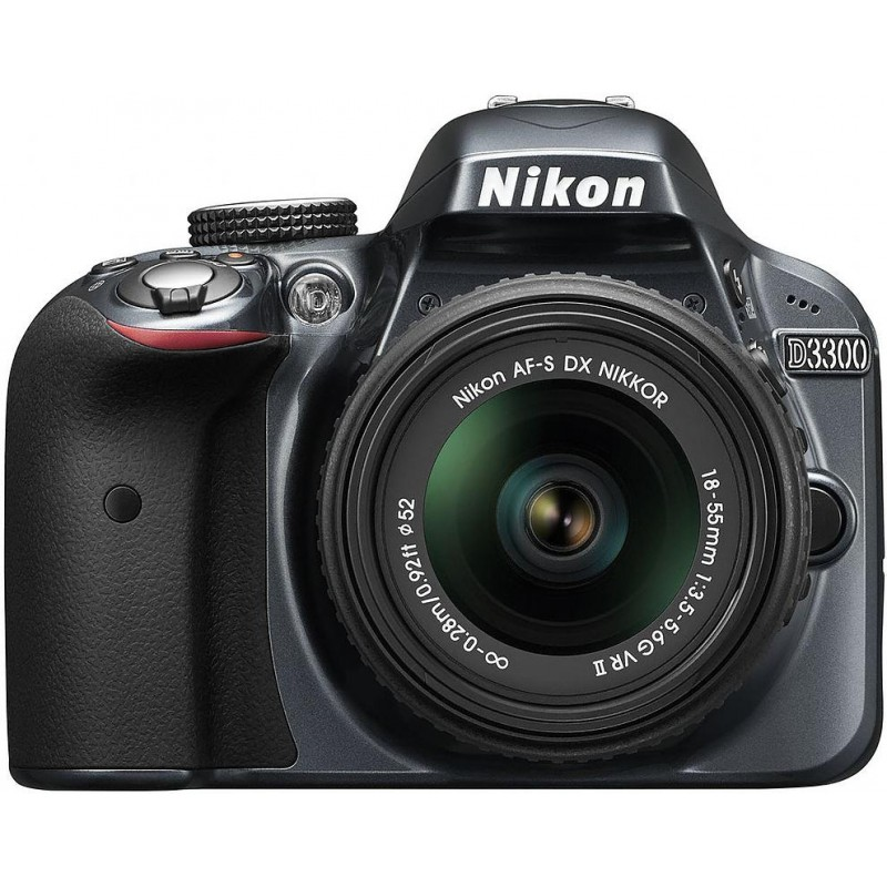 Nikon D3300 + 18-55mm VR II Kit, hall