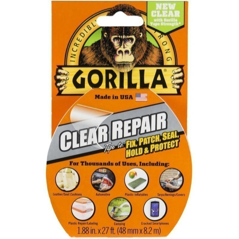 "Клейкая лента Gorilla ""Clear Repair"" 8,2 м"