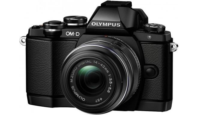 Olympus OM-D E-M10 + 14-42mm II R Kit, must