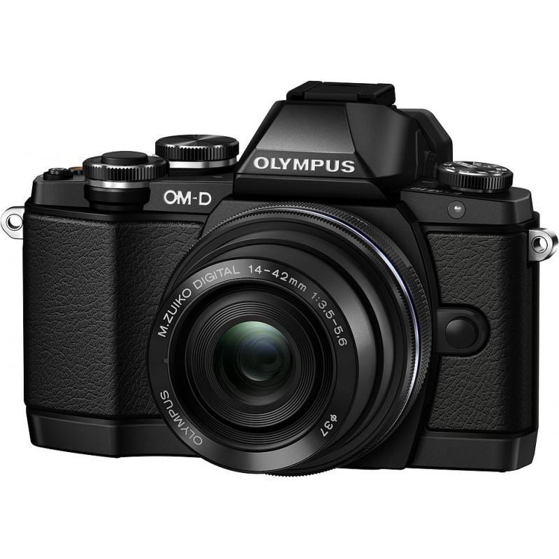Olympus OM-D E-M10 + 14-42 EZ Kit, чёрный