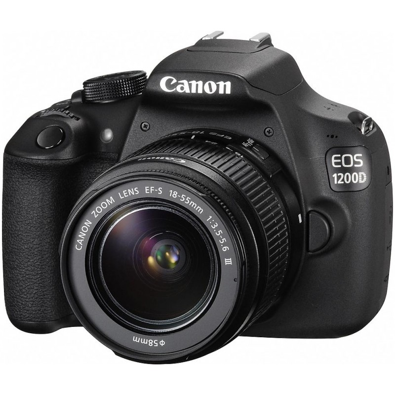 Canon EOS 1200D + 18-55mm DC III Kit